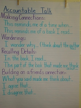 Read to Someone - Accountable Talk