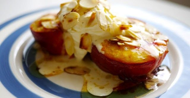 Honey Roast Peaches | Inspired Dreamer