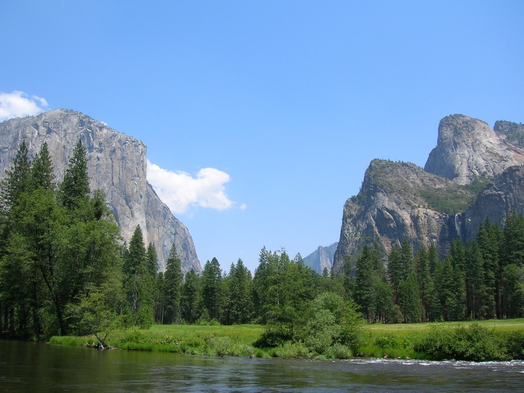 """Inside """"the valley"""" of Yosemite National Park"""