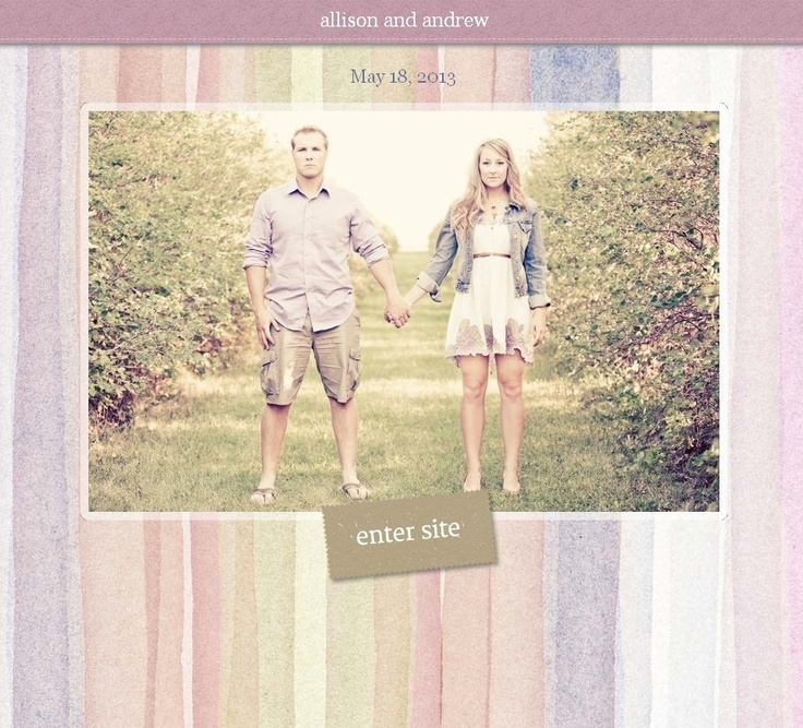 18 best images about Wedding Websites on Pinterest