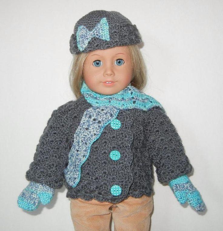 154 best American Girl Crochet Patterns images on Pinterest ...