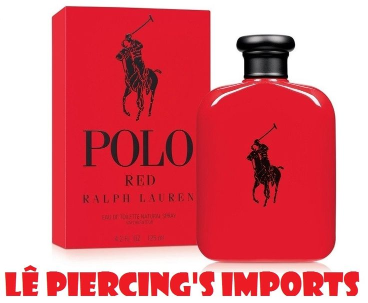 Perfume Polo Red Masculino 125ml Eau de Toilette Ralph Lauren