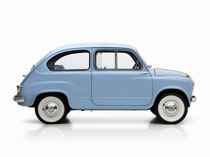 FIAT 600 - 1955, 1956, 1957, 1958, 1959, 1960, 1961, 1962, 1963, 1964 ...