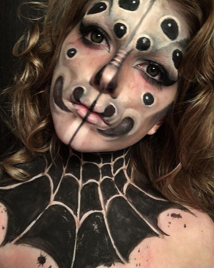 "33 Likes, 3 Comments - Drew (@doodlebuggin) on Instagram: ""Did the makeup thing #makeup #fx #fxmakeup #fxmakeupartist #makeupartist #fxartist #spidermakeup…"""