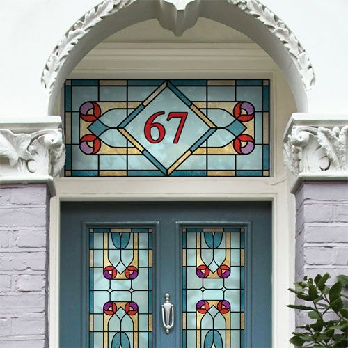 Design Your Own Victorian Home: 62 Best House Number Ideas Images On Pinterest