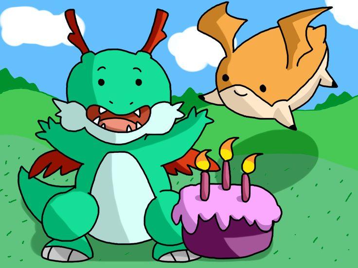 Happy Birthday! by ~SparkusThunderbolt on deviantART