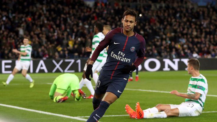Paris St Germain outclass Celtic in seven-goal rout #News #Celtic #EdinsonCavani #Football #KylianMbappe