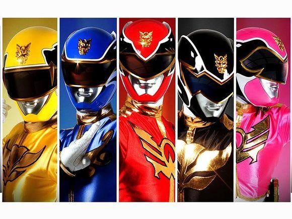 Painel Power Rangers - 1,20x0,90m