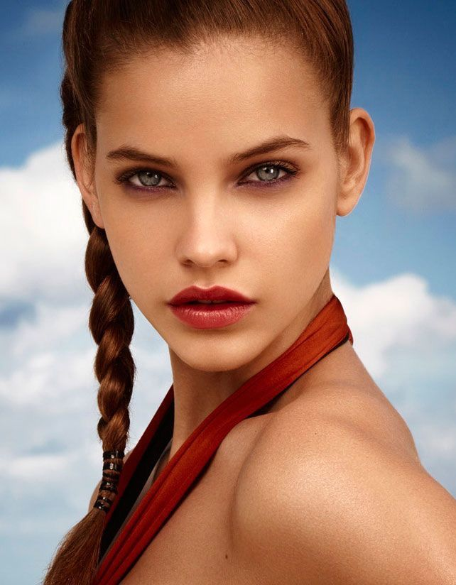 Barbara Palvin Hungarian model Born: October 8, 1993 (age 24), Budapest, Hungary Height: 5′ 9″ Hair color: Brown Agency: IMG Models