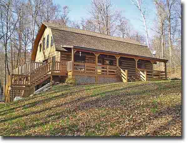 Gambrel roof barn house plans woodworking projects plans for Barn cabin plans