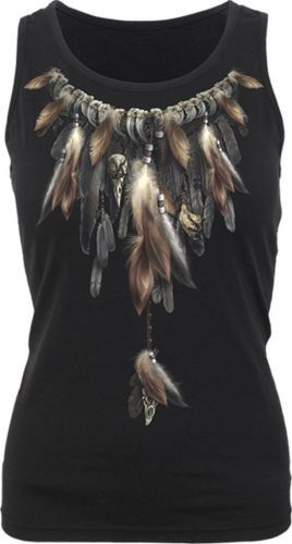 Spiral-Native-Spirit-Shirt-Tee-Tank-Top-Shirt-Indianer-Western-Federn-3121-119
