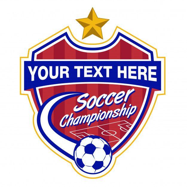 Soccer Logo Template Premium Vector Premium Vector Freepik