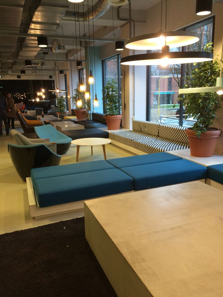Student Living Room Decor: Student Hotel Amsterdam West