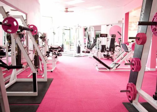 If my gym looked like this I would work out all day long.