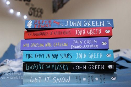 I have all of them except paper towns and will Grayson, will Grayson