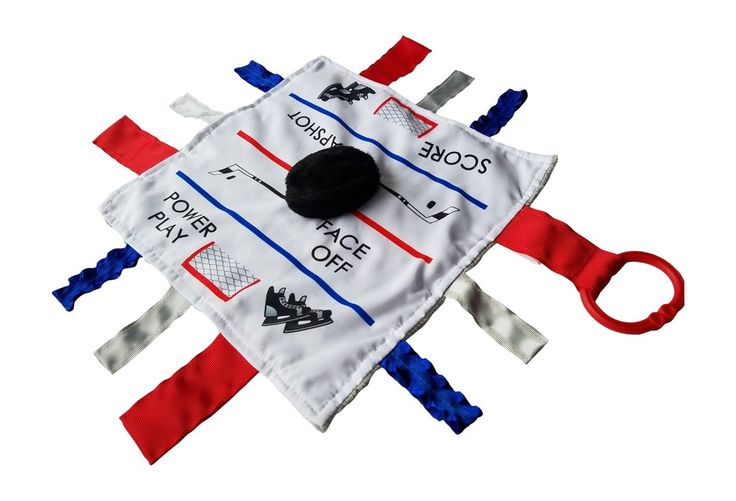 COMING SOON 2016 Hockey Sensory Educational Lovey - arrives in July