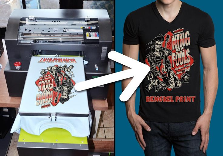 t-shirt printing machine with the print size a3+