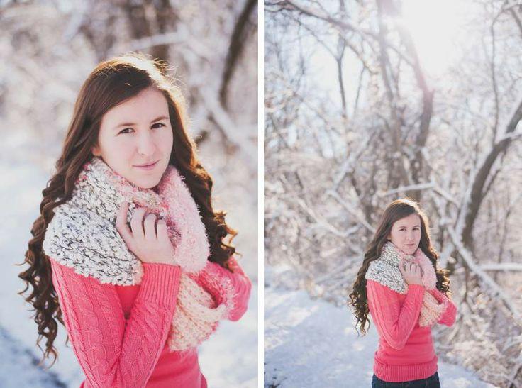 winter. snow. snow portraits. snow senior portrait session. senior portraits. class of 2014. country. senior photography. www.laurabenitz.com