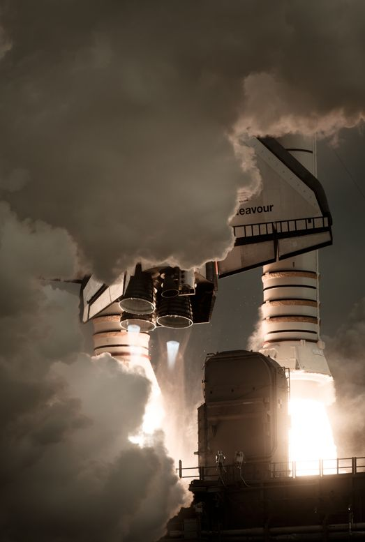 Dan Winters' gorgeous photos of final Space Shuttle missions