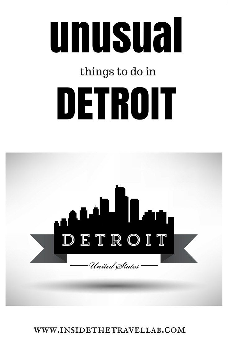 Things To Do in Detroit: Making the Most of the Comeback City... Put your hands up for Detroit. You may even find you love this city.