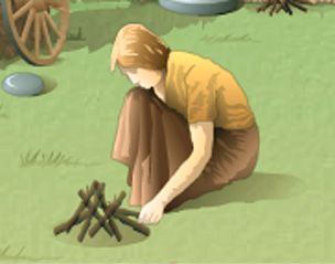 Click to try the activity. | Life in the Iron Age | Gather objects, watch an animated presentation of how they were used, then test your knowledge with a quiz. | Junior high to high school audience | BBC: http://www.bbc.co.uk/history/interactive/games/ironage_life/index_embed.shtml