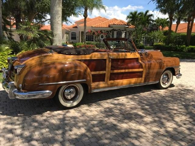 1948 Chrysler Town Country For Sale 2033138 Hemmings Motor News Chrysler Town And Country Classic Car