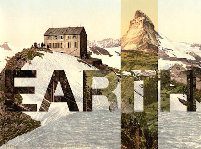 Typography meets Retro Photography – Fubiz™