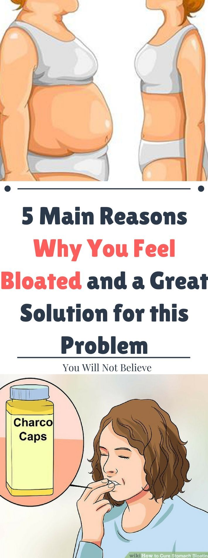 5 Main Reasons Why You Feel Bloated and a Great Solution for this Problem.. Read this carefully.!