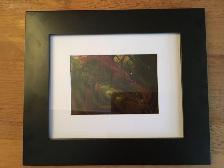 "Nébuleuse du Crabe Acrylic on yupo 5""x7"" ©wcdécarie-2017"