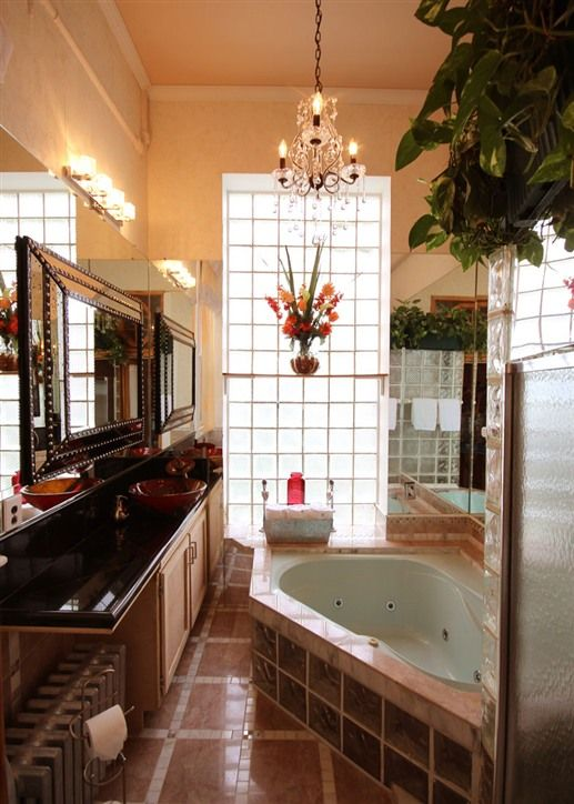 Bathroom at International Cozy Inn - New York, New York