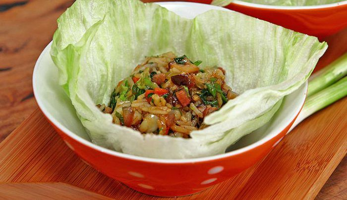 Pork and Prawn San Choi Bau