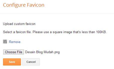 Mengganti Favicon Blogger (Blogspot)