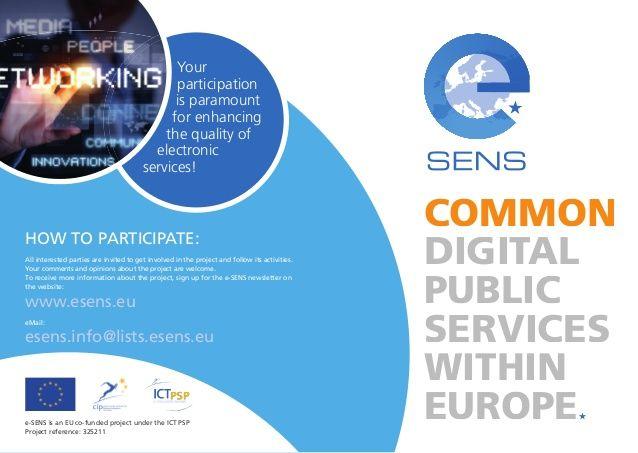 e-SENS value story IT industry by e-SENS project via slideshare
