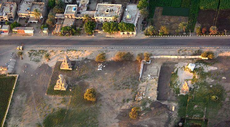 Amenhotep III temple Luxor Egypt
