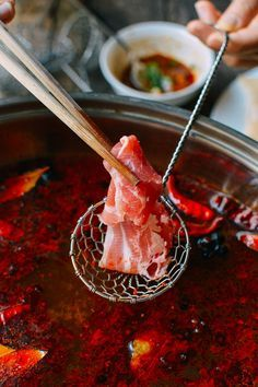 Image result for chinese eating hot pot