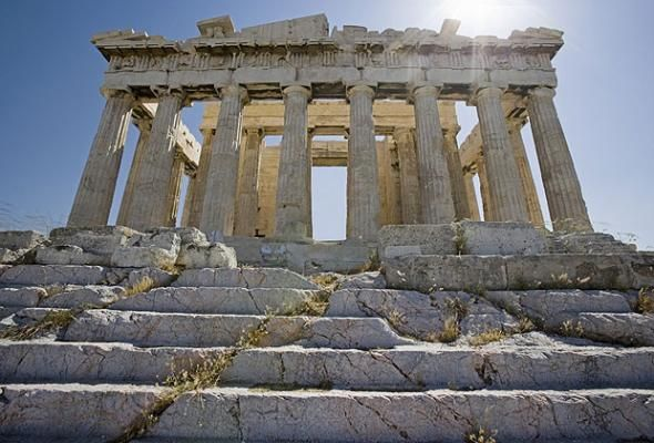 Athens, Greece  Earliest inhabitation: 1,400 BC   The cradle of Western Civilization and the birthplace of democracy, Athens heritage is still very evident. It is filled with Greek, Roman, Byzantine and Ottoman monuments and remains a hugely popular tourist destination.