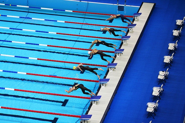 2008 Olympic Swim Trials, Omaha by Asten, via Flickr