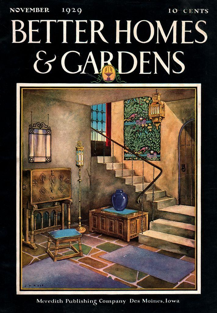 astonishing better homes and gardens magazine archives. 1929 Better Homes  Gardens November Semi tropic garden 199 best Vintage Magazines images on Pinterest Magazine covers