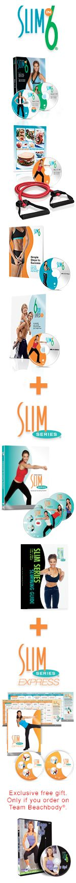 Slim in 6 Deluxe with trainer Debbie Siebers from Beach Body products (same people as the P90X programs, but lower intensity!)