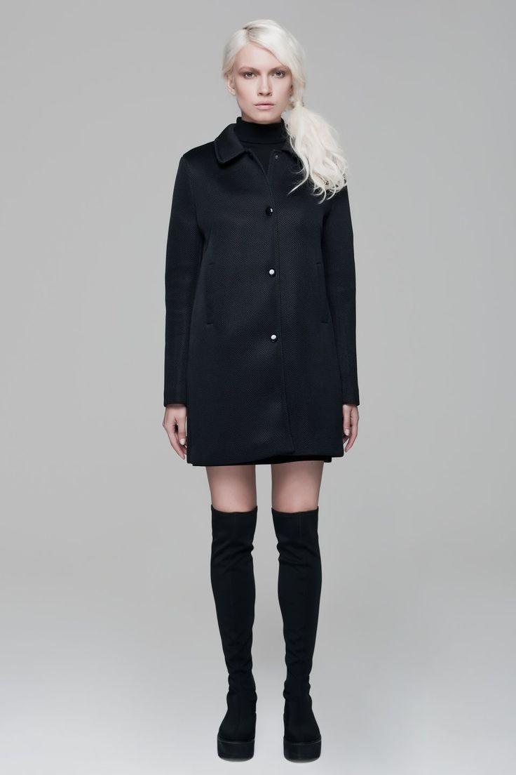 Wednesday Mesh Coat BLACKBLESSED  @Black Blessed #black #white #fashion #minimal #basic #elegant #designer #urban #urbanchic #dresses #pants #tshirt #top #leggings #white #simple #simplicity