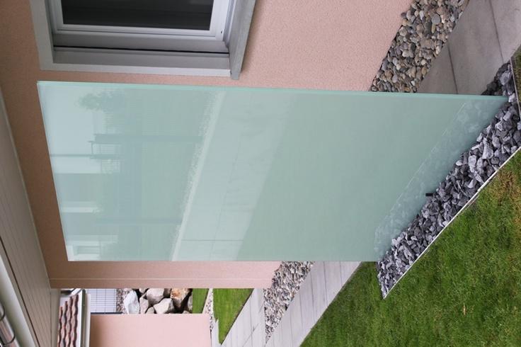 Более 25 лучших идей на тему «Sichtschutz Glas» на Pinterest - trennwand garten glas