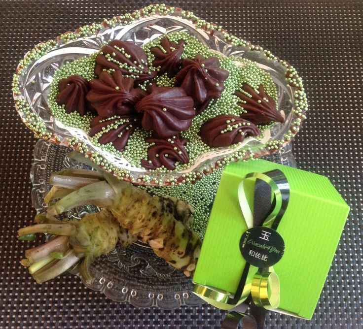 Choclat with real Wasabi from Wasabi4You