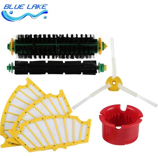 21.50$  Watch here - http://aliyyq.shopchina.info/go.php?t=32594755263 - Original OEM,cleaning sweeping robot side brush/Filter,500 Series Replenishment Kit/sets ,vacuum cleaning robots parts 21.50$ #shopstyle