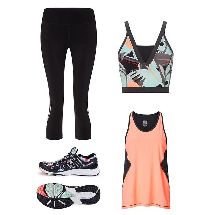 From exclusive New Balance sneakers to bold spring crops, here are the pieces you need to brighten up your workout wardrobe.