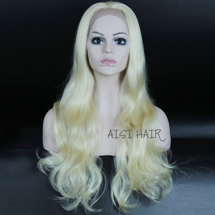 Synthetic Lace Front Wig for Women Blonde Wigs Heat Resistant Cheap african american Wigs Long Wavy Fake Synthetic Hair female-in Synthetic Wigs from Health & Beauty on Aliexpress.com | Alibaba Group