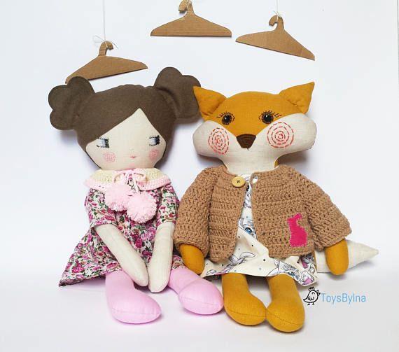 Doll clothing set for 22 rag dolls Dress up doll
