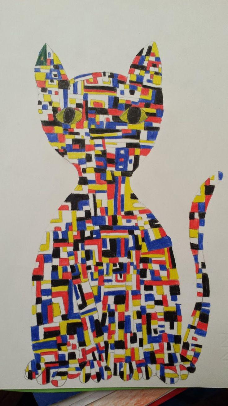 Dietro il dipinto Behind the painting: Ispirazioni da Broadway Boogie-Woogie di Mondrian!!!
