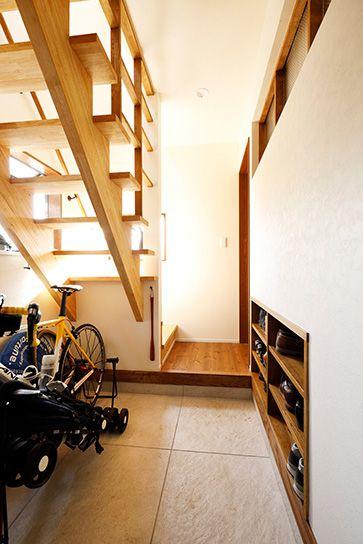リフォーム・リノベーションの事例 玄関 施工事例No.572ちょうどいい距離感の二世帯住宅 スタイル工房