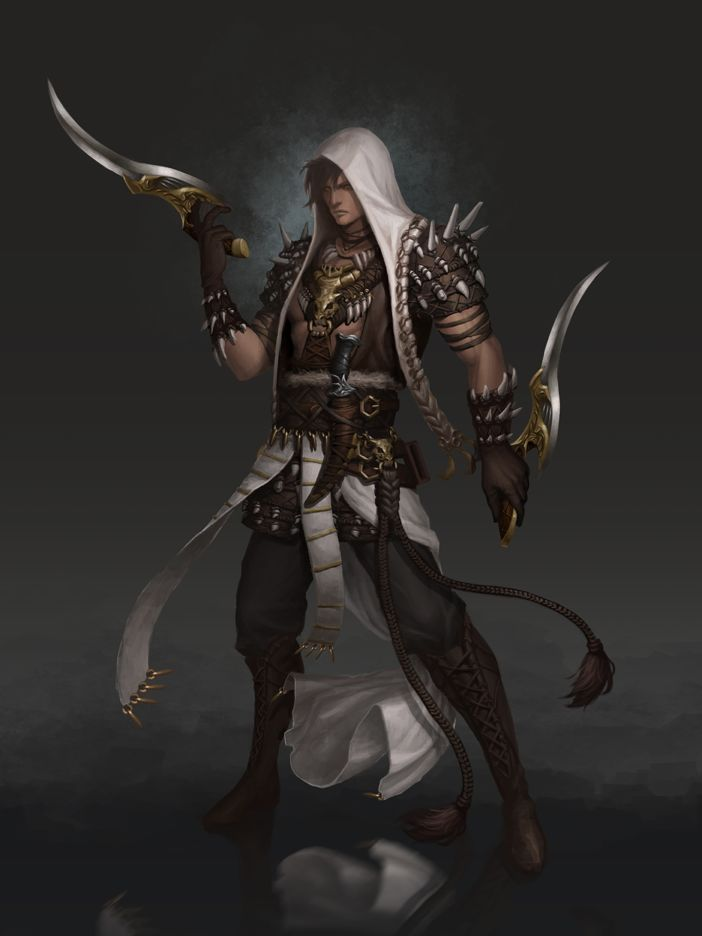 Bbangzip DrawCrowd rogue ranger Fantasy Rangers
