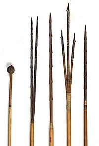 Armas de arremesso - Índios do Oiapoque (AP)